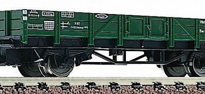 DB GREEN G?terwagen OPEN WORKS WERKSTATT WAGON BOXED - FLEISCHMANN 8201