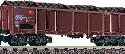 DB Wagon DBAG Eaos 106 Gondola with Car Tyre Load VI - Fleischmann 828315