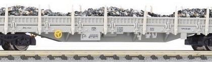 Pressnitztalbahn Res Flat Wagon with Stakes and Ballast load Grey VI - Fleischmann 828805