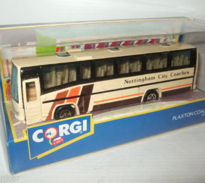 Nottingham City Coaches Plaxton Coach - Corgi 91905