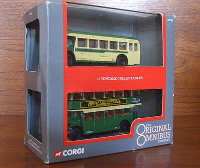Crosville Motor Services Bristol 2 Bus set - Corgi OOC 97056