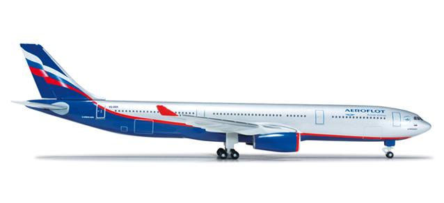Aeroflot Airbus A330-300 -  Herpa 517522-001