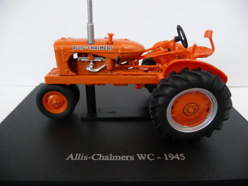 Allis Chalmers WC Diecast Tractor Model  - Universal Hobbies 1/43 Scale