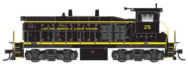 N Master MP15DC Loco Lake Erie Franklin & Clarion 25 - Atlas 52310