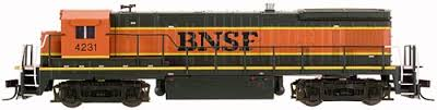 BNSF B23-7 No 4242 - Atlas 40 000 286