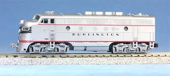 CB&Q Burlington EMD F3A - Kato 176-1311