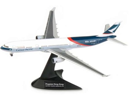Cathay Pacific Airbus A330-300 100th Aircraft Progress Hong Kong - Herpa/Cathay Special