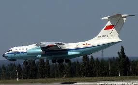 China Civil IL-76 - Big Bird 1.500 model
