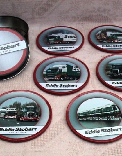 Eddie Stobart Coasters - Atlas Editions Eddie Stobart Collection NEW unopened