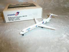Crossair McDonnell Douglas MD-80  - 507622