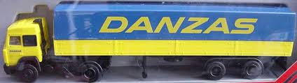 Danzas Iveco lorry - Herpa 847014