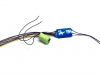 4 Function Decoder with 8pin plug. with stayalive - DCC Train Automation