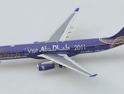 Etihad Airbus A330-300 Visit Abu dhabi 2011 - Sky 500 0713EA