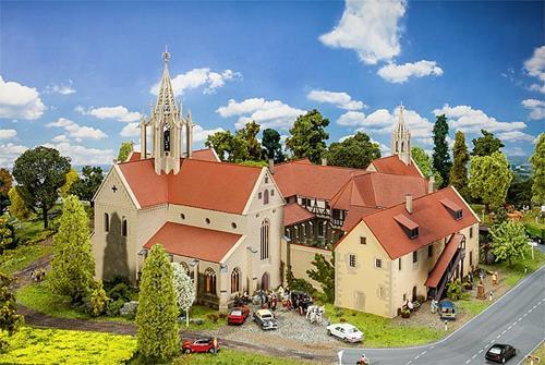 Bebenhausen Monastery Kit - Faller 130816 Premium Model