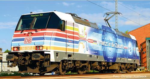 DBAG BR146 Vernetzt in die Zukunft Electric Loco VI - Fleischmann 738801