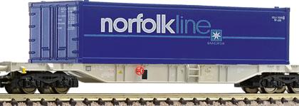 AAE Container Wagon Norfolk Line - Fleischmann 825203