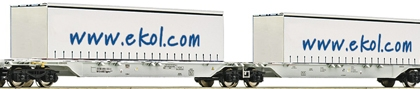 AAE Sggmrs ekol Double Container Wagon VI - Fleischmann 825329  Fleischmann E Shop item