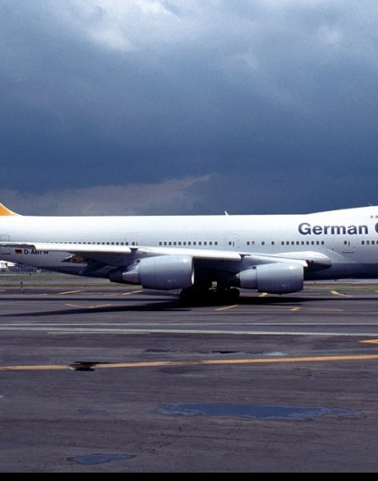 German Cargo Boeing 747-200F D-ABYT - C & C models MN81023