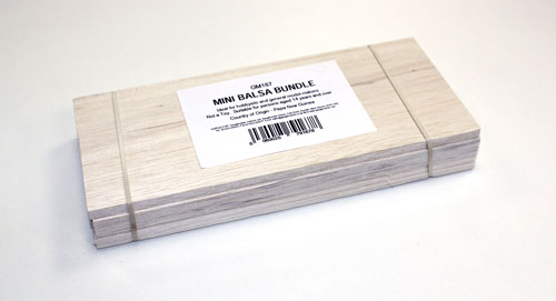 Balsa Wood - Mini Bundle (50 x 76 x 229mm)