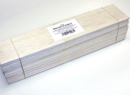 Balsa Wood - Maxi Bundle (75 x 150 x 450mm)