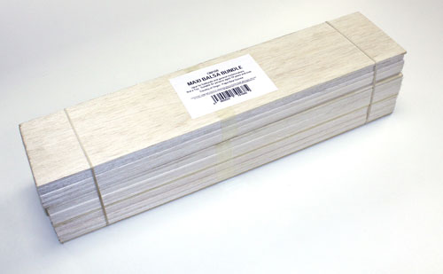 Balsa Wood - Maxi Bundle (75 x 150 x 450mm)