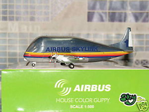 Airbus House Color Guppy - Sky 500