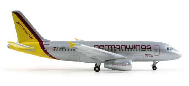 Germanwings Airbus A319  Reg D-0AGWQ - Herpa 509077
