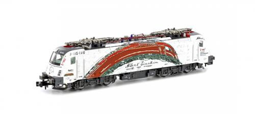 CZ Rh541 Einstein Taurus Electric Locomotive VI - Hobbytrain (by Lemke) H2731