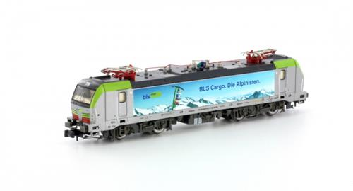 BLS Cargo Re493 Die Alpinisten Electric Locomotive VI - Hobbytrain (by Lemke) H2975