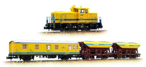 DB  BR365 loco plus coach and 2 wagons DBG - Hobbytrain H5006 DCC Fitted