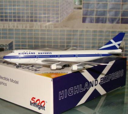Highland Express B747 - 200 G-HIHO - InFlight 500