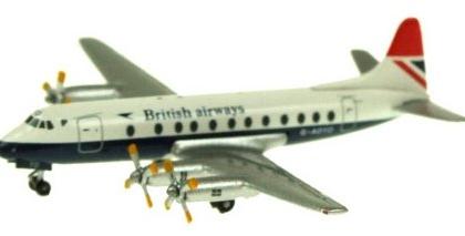British Airways Vickers Viscount 800 G-AOYO - Inflight 500 IF5801009