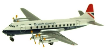 British Airways Vickers Viscount 800 G-AOYO - Inflight 500 IF5801009