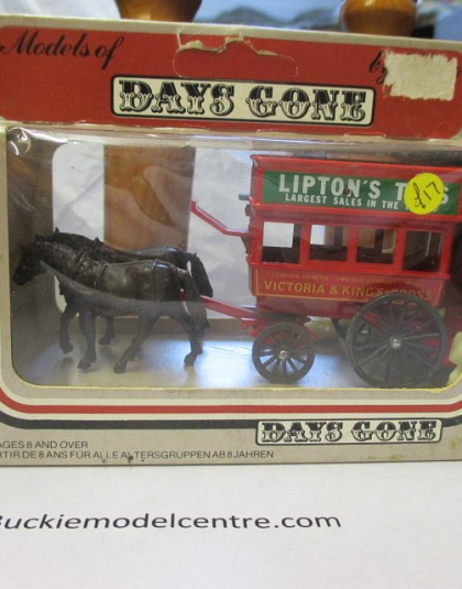 Victoria & Kings Road Horse Drawn Bus - Lledo Days Gone
