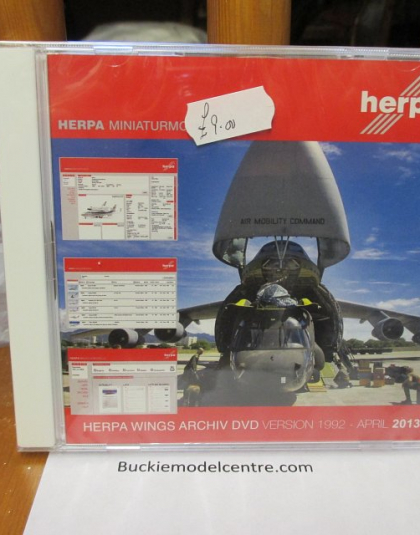 Herpa Wings Archive DVD 2013