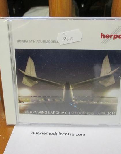 Herpa Wings Archive DVD 2010