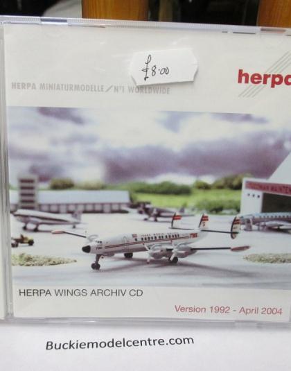 Herpa Wings Archive DVD 2004