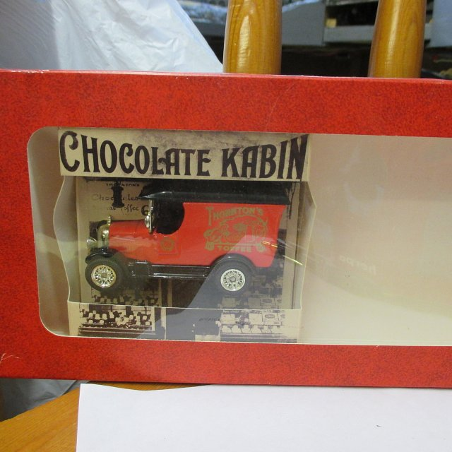 Thorntons Toffee Van from Set – Oxford Diecast 1