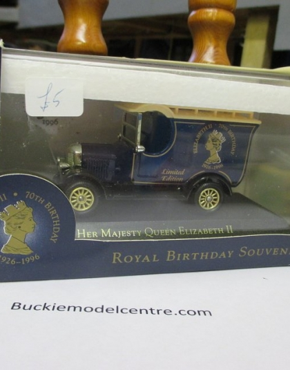 Queens 70th Birthday Van - Lledo Vanguard special