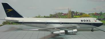 BOAC Boeing 747-100 - Big Bird 2005-035