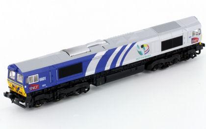SNCF Fret Benelux Class 66 6601 - Kato 10824