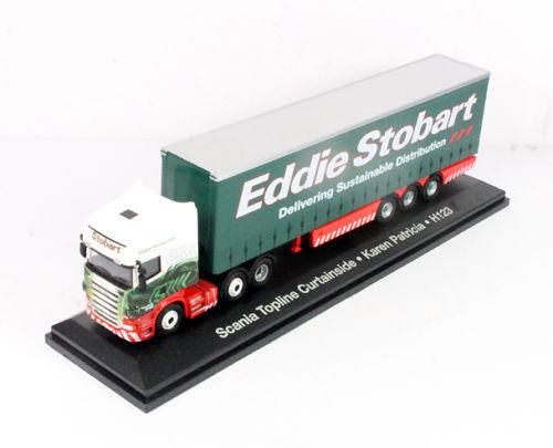 Eddie Stobart Scania Topline Karen Patricia - Atlas Editions NEW unopened