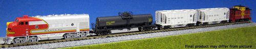 AT&SF Freight Train Pack EMD F7 - Kato (USA) 106-6271
