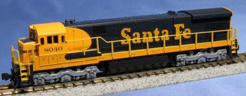 Santa Fe Warbonnet No.8040 GE C30-7 S - Kato 176-0943
