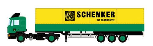 Schenker MAN F90 Lorry - MiNis (by Lemke) LC4056