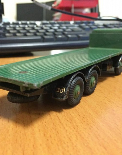 Dinky Foden 8 wheeled lorry