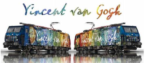 ERS ES64 F4-206 Vincent Van Gogh Loco (DCC-Fitted) V1 - Minitrix T16895