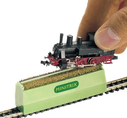 Loco Wheel Cleaning Brush N - Trix/ Minitrix 66623 - N & Z Scale