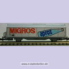 SBB CFF MIGROS APROZ G?terwagen WAGON-ROCO 2326B