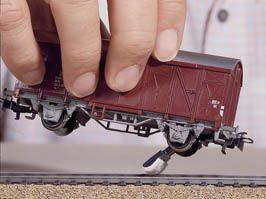 Track Cleaners (5) N Gauge - NOCH 60158
